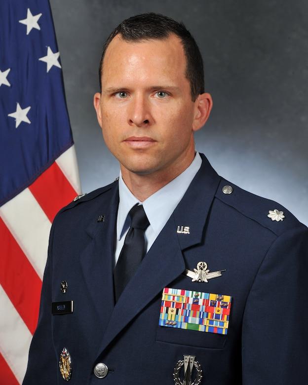 Lt. Col. David M. Ashley, 5th Space Launch Squadron commander