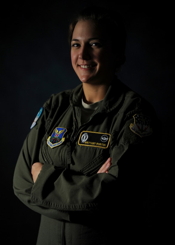 First Lt. Brittany Morton is a 490th Missile Squadron missile combat crew commander. As part of her job, she spends 24 hours on alert up to, and sometimes more than, eight times a month. (U.S. Air Force photo/Senior Airman Cortney Paxton)