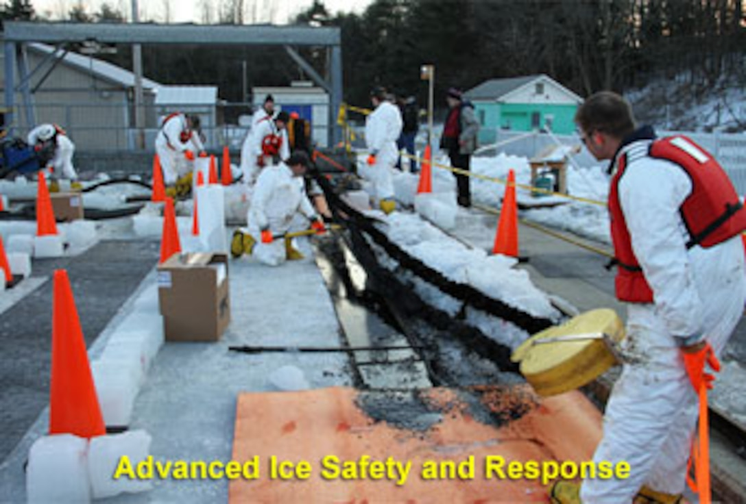 ERDC-CRREL is working to develop methods for detecting and mapping oil in and under ice.  This will improve spill response capabilities for oil and gas operations in Arctic regions.