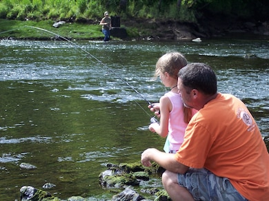 Trout Fishing on the North Fork River