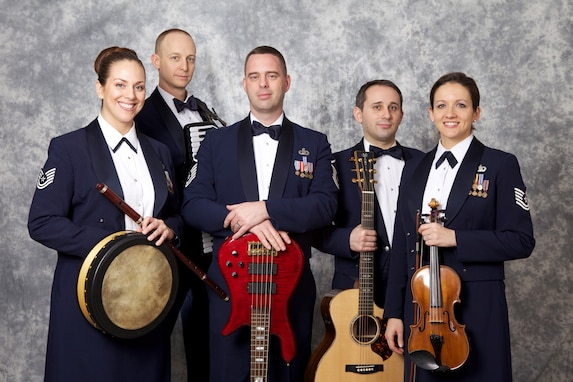 Celtic Aire will embark on their first national tour in May. (U.S. Air Force photo by Master Sgt. Tara Islas/released)