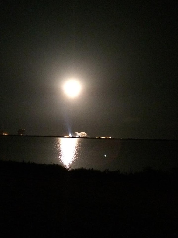 The U.S. Air Force supported the successful launch of a United Launch Alliance Atlas V rocket that roared to life carrying the Air Force's seventh Block IIF-7 navigation satellite for the Global Positioning System at 11:23 p.m. EDT Aug. 1 from Cape Canaveral Air Force Station, Fla. The 45th Space Wing team of military personnel, government civilians, and contractors provided support to the ULA launch of the Air Force Space Command mission, including weather forecasts, launch and range operations, security, safety, and public affairs. (U.S. Air Force photo/Shawn Walleck)