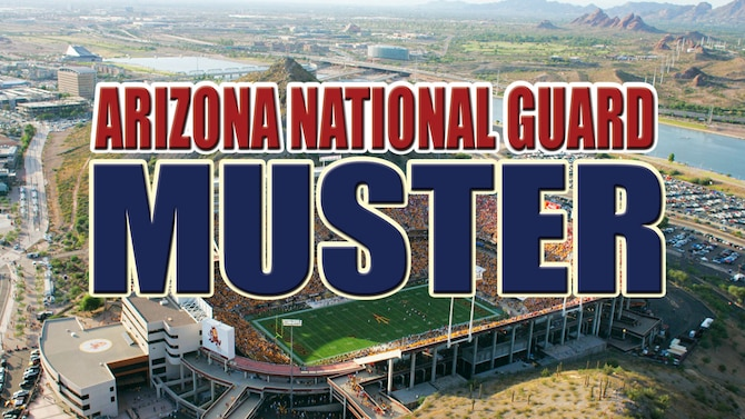 Join the men and women of the Arizona National Guard Sunday, Dec. 7, at 11 a.m., at ASU Sun Devil Stadium in Tempe as they rally to honor the service and sacrifice of all Arizona veterans and show appreciation to the community they serve. (Arizona National Guard photo illustration)