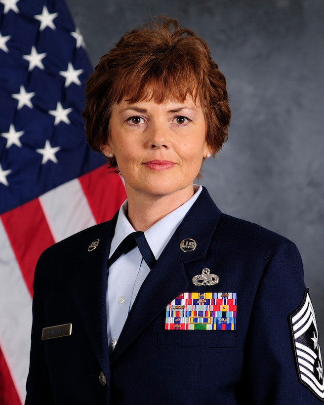 CMSgt Victoria Gamble, Air Mobility Command command chief