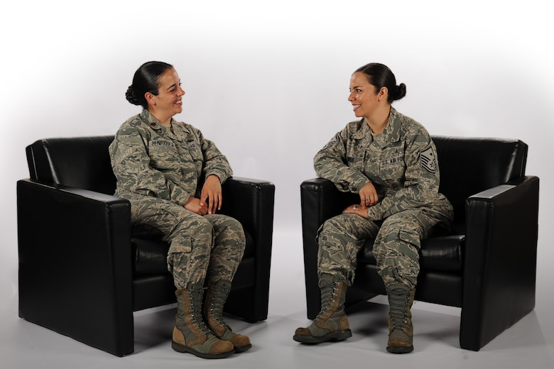 Tale of two sisters: How education helped shape two Airmen's