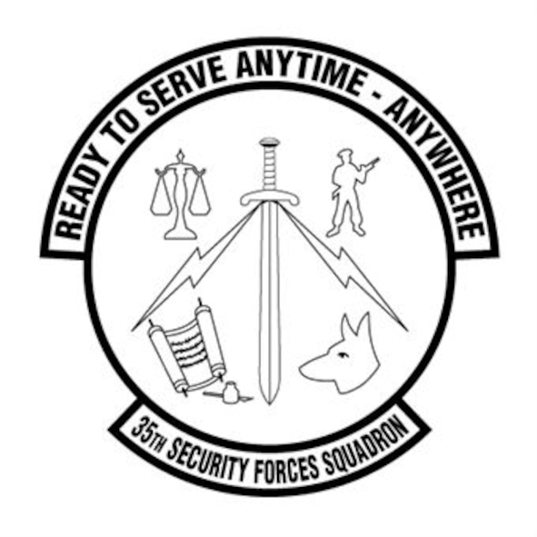35th Security Forces Squadron (U.S. Air Force Graphic)