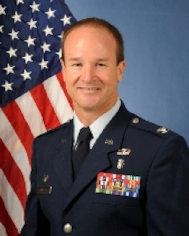 Col. Michael Eppinger, 60th Surgical Operations Squadron commander