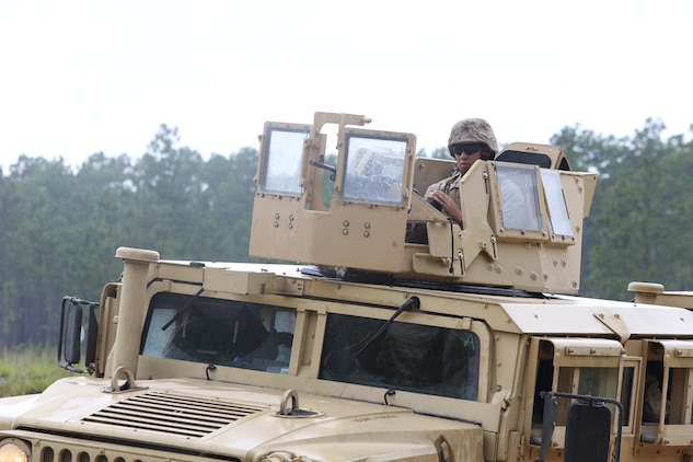 The Marines with Marine Wing Support Squadron 273 departed July 30, and made their way to Fort Stewart in Hinesville, Ga., for Field Exercise 2-14. Field Exercise 2-14 is a 10 to 12 day field exercise the squadron conducts in order to get Marines and sailors tactically ready  with weapon familiarization, performing land navigation, living in the field and gives them a chance to execute their Military Occupational Specialties in the field, according to Master Sgt. Daniel Rodriguez, the motor transport chief for MWSS-273.