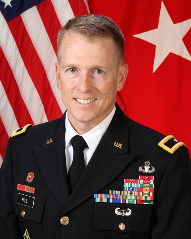 Brig. Gen. David C. Hill is the Commander and Division Engineer of the Southwestern Division, U.S. Army Corps of Engineers.
