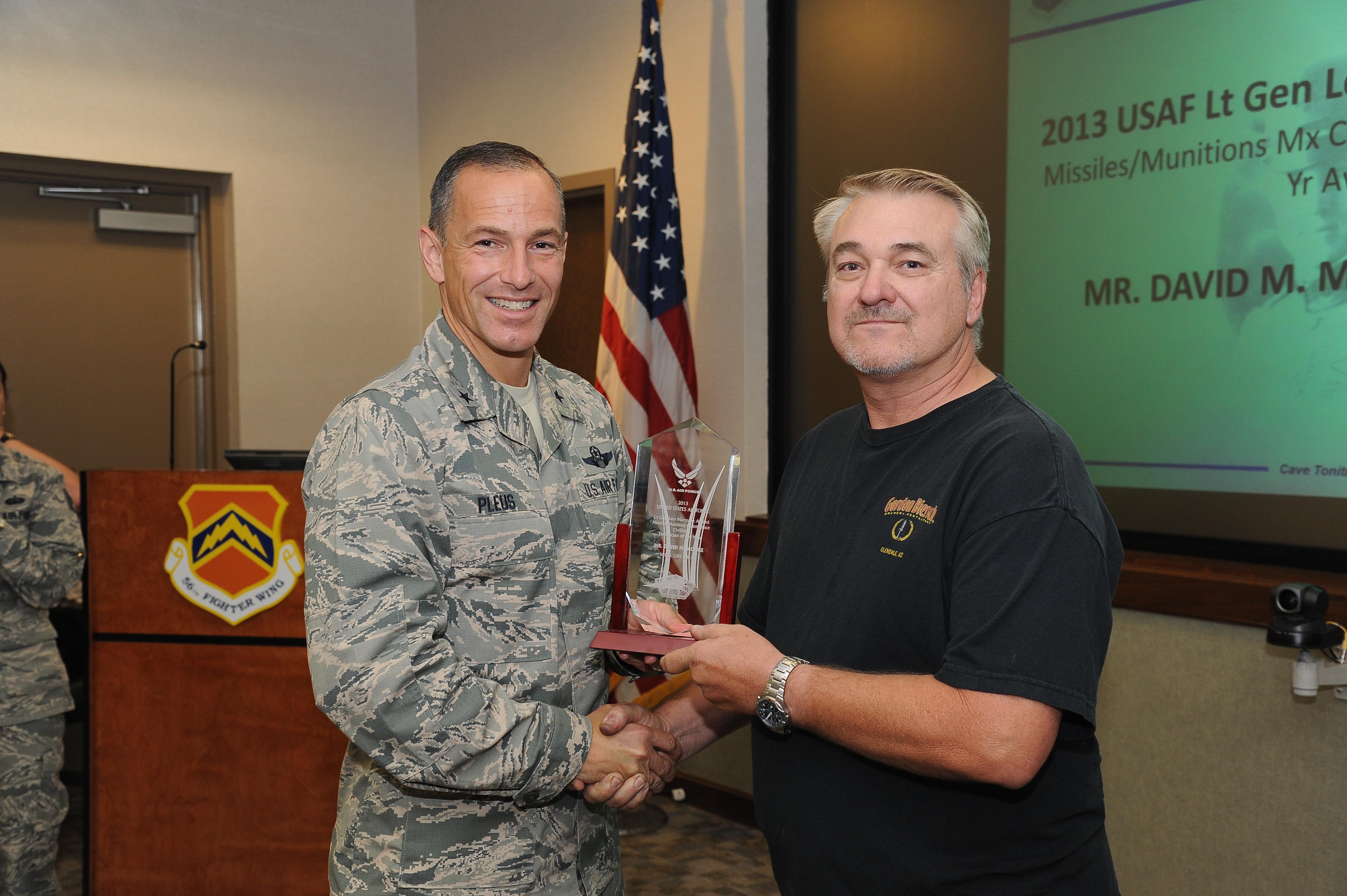 luke civilian earns coveted marquez award > u s air force luke civilian earns coveted marquez award