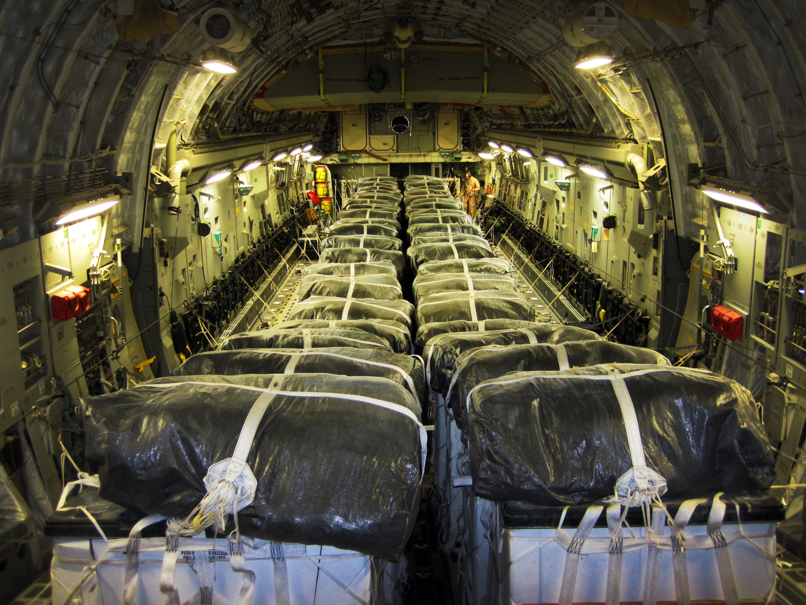 Joint Team Supports Humanitarian Air Drop In Northern Iraq