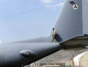 U.S. Air Force Reserve Senior Airman Francisco Barriento, 440th Air