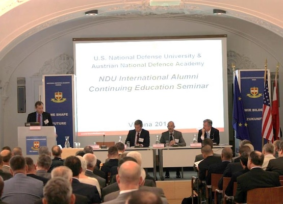 Seminar participants included 70 alumni from over 30 countries and represented each of NDU's five colleges.