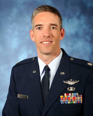 Lt. Col. Dan Oosterhous (Air Force photo)