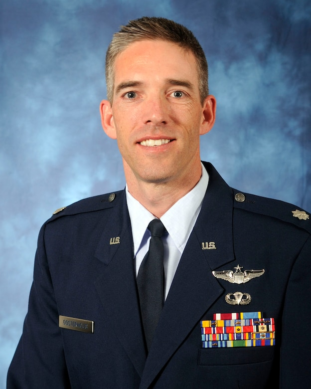 Lt. Col. Dan Oosterhous (Air Force photo)