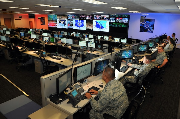 Cyber Airmen from the 24th Air Force at Joint Base San Antonio-Lackland, Texas. (Courtesy image)