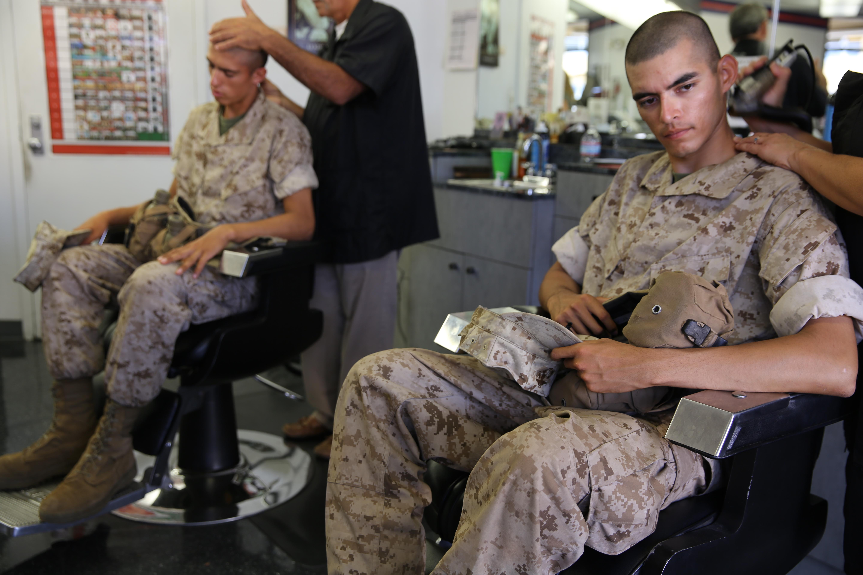 Wonderful First Marine Corps Haircut  YouTube