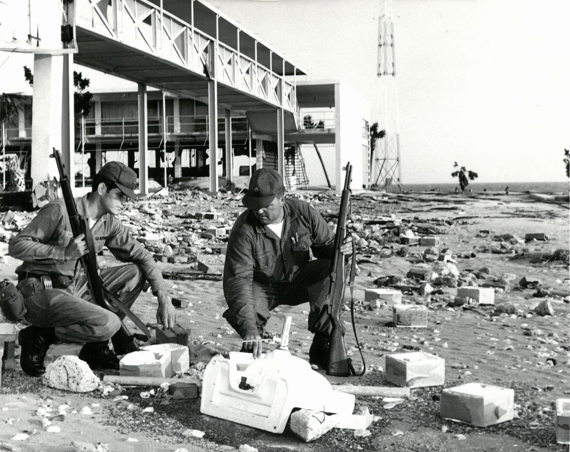 Hurricane Camille - Joint National Guard response to huge ...