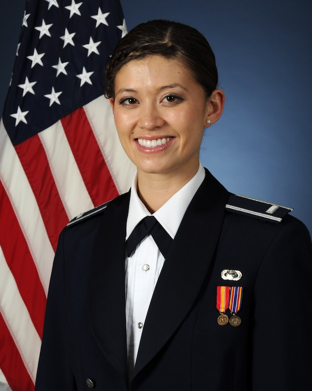 1st Lt. Alicia Wallace, Tops in Blue vocalist, and USAFA Class of 2012 graduate. (Courtesy photo)