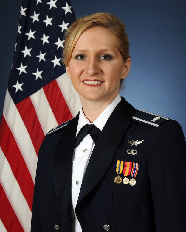 1st Lt. Shannon Hart, Tops in Blue keyboardist, and USAFA Class of 2011 graduate. (Courtesy photo)