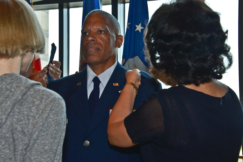 Hamlar was promoted to Brigadier General, Monday, August 18, at the Minnesota History Center in St. Paul, Minnesota.  Hamlar is the first African American to achieve the rank of Brigadier General in the Minnesota National Guard.