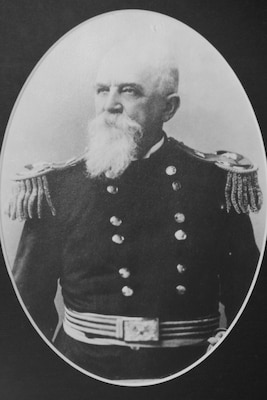 William Price Craighill became the fourth officer in charge of what would later become the Norfolk District, U.S. Army Corps of Engineers when he took command July 1, 1887. Craighill became the Corps' first Southeast Division Engineer and established the camp for the Yorktown surrender celebration. (U.S. Army photo)