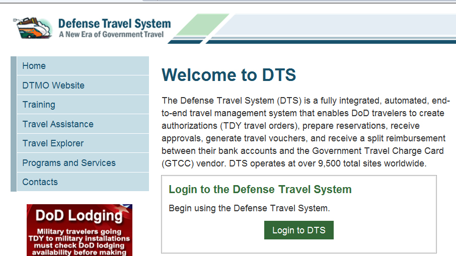 joint base andrews reminded to update dts information joint base