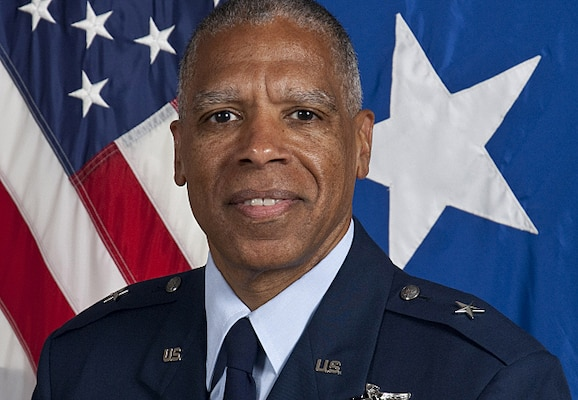Dr. David D. Hamlar, co-director of the University of Minnesota's Craniofacial Skull Base Center, was promoted from colonel to brigadier general in the Minnesota Air National Guard during a ceremony held at the Minnesota History Center in St. Paul, Minn., Aug. 18, 2014. Courtesy photo
