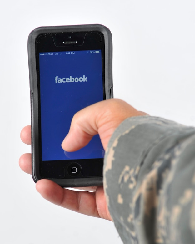 With more than 70 percent of online adults using Facebook and nearly 90 percent of 18 to 29 year olds using social media, it would be easy to say most communication occurs online. While social media use can be entertaining and informative, its use poses potential operations security weaknesses and Air Force Instructions provide guidance on appropriate social media use. (U.S. Air Force photo/Airman 1st Class Benjamin Raughton)