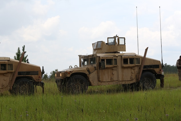 The Marines with Marine Wing Support Squadron 273 departed July 30, and made their way to Fort Stewart in Hinesville, Ga., for Field Exercise 2-14. Field Exercise 2-14 is a 10 to 12 day field exercise the squadron conducts in order to get Marines and sailors tactically ready  with weapon familiarization, performing land navigation, living in the field and gives them a chance to execute their Military Occupational Specialties in the field.