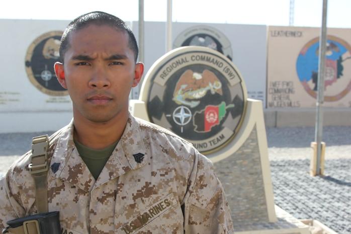 Hawaii Marine instills 'Ohana' family spirit during Afghanistan deployment