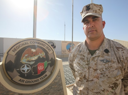 First in, last out: Sailor serves with Marine units making history in Afghanistan