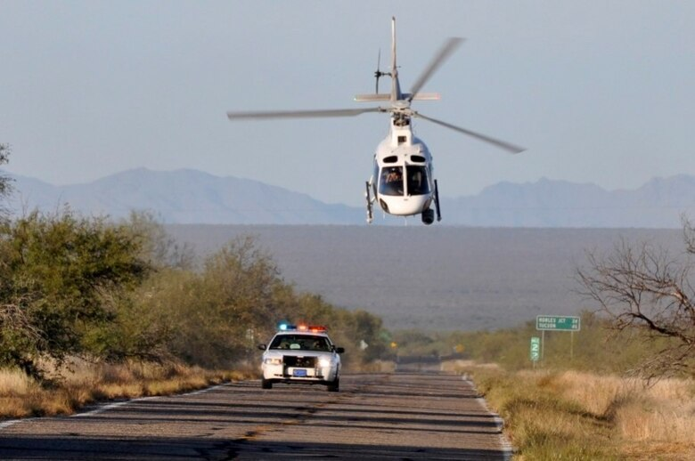 (Photo courtesy of Customs and Border Patrol Office of Air and Marine)
