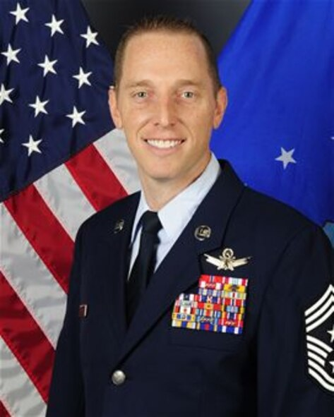 Command Chief Master Sgt. Matthew Lusson