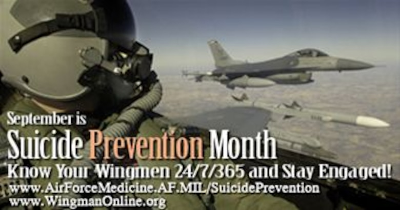 September is Suicide Prevention Month (Web graphic) (Air Force graphic/Steve Thompson)