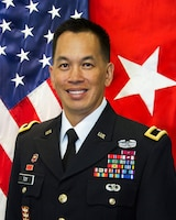 Official photo of Brig. Gen. Mark Toy, South Pacific Divison Commander.