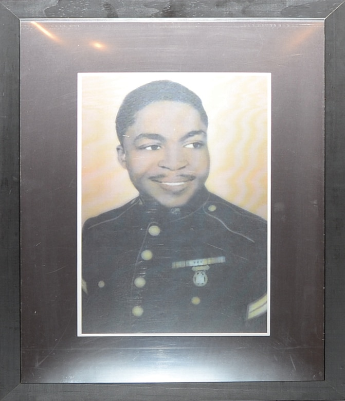 Pfc. James Windom, an original Montford Point Marine.