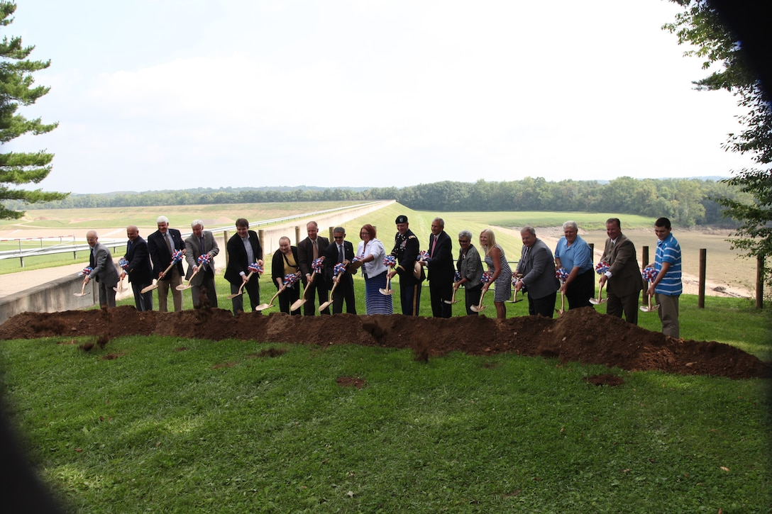 Bolivar Seepage Barrier Groundbreaking