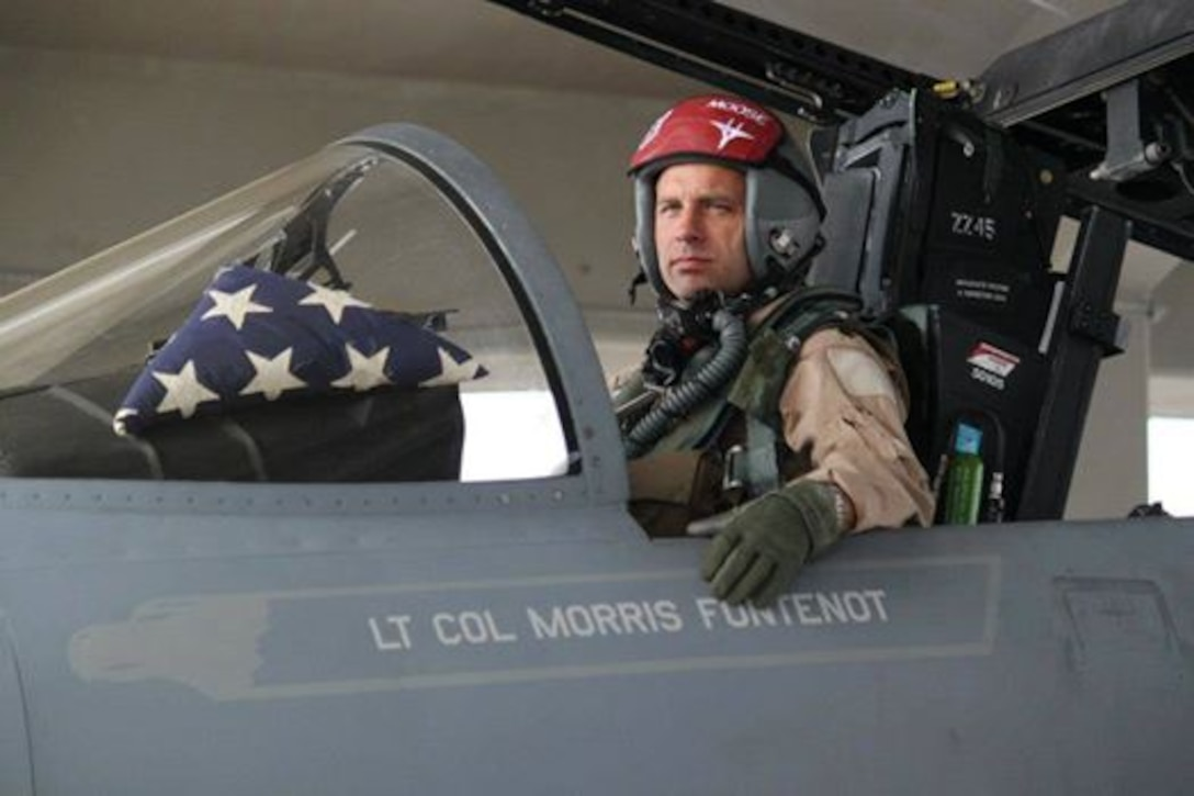 """Lt. Col. Morris """"Moose"""" Fontenot Jr. (Photo provided by the family)"""
