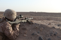 Marines, sailors with Bravo Company conduct security patrol in Helmand province, Afghanistan