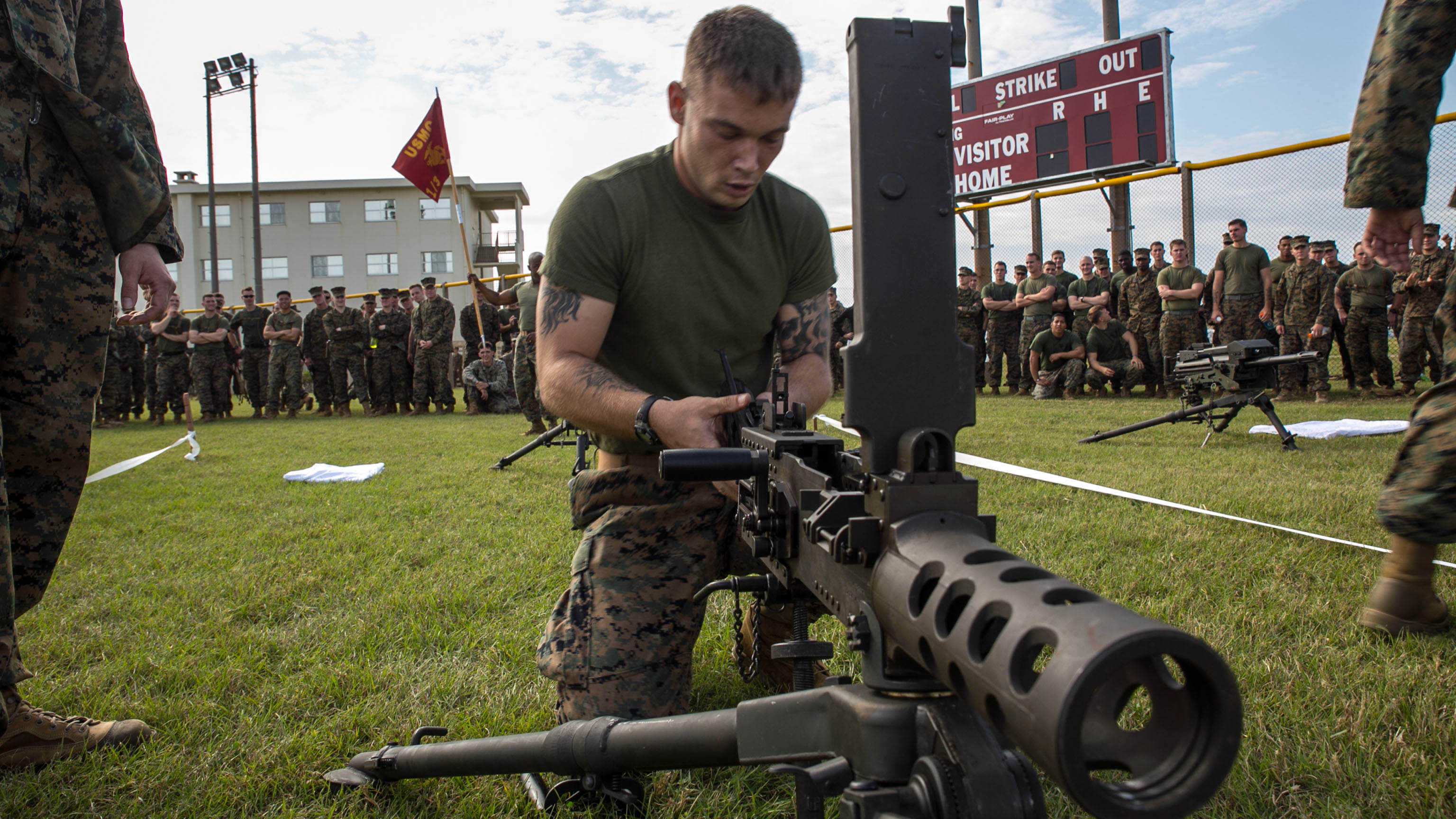 4th Marines hosts historic commander's cup competition > The ...