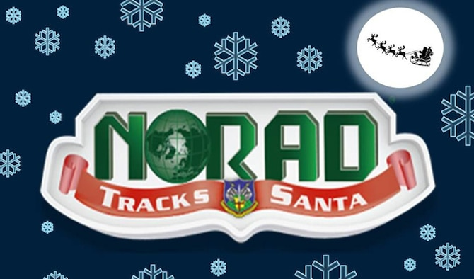 NORAD Tracks Santa logo. (U.S. Air Force graphic/Staff Sgt. Luis Loza Gutierrez)