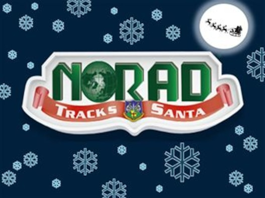 The North American Aerospace Defense Command's NORAD Tracks Santa website, http://www.noradsanta.org, launched Dec. 1,2014, featuring a mobile version, a holiday countdown, new games and daily activities and more. (Copyrighted image of NORAD Tracks Santa logo was used for design, U.S. Air Force graphic/Staff Sgt. Luis Loza Gutierrez)