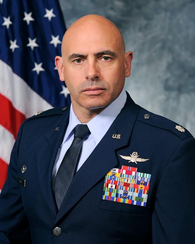 Lt. Col. David Case, 50th Space Communication Squadron commander