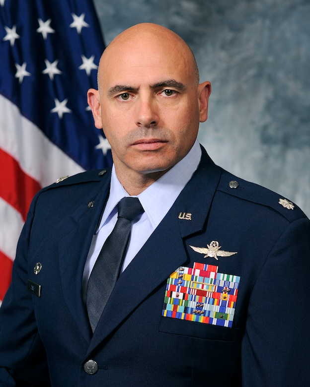 Lt. Col. David Case, 50th Space Communication Squadron commander