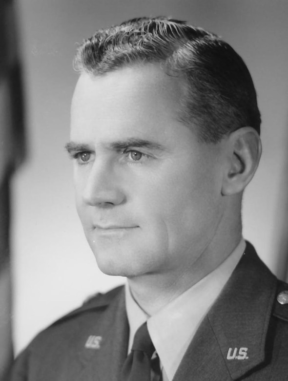 Yokota Air Base's first commander Col. William Bell.   (U.S. Air Force photo)