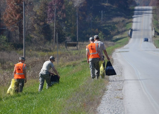 131st Bomb Wing Missouri National Guard Citizen-Airmen from the 131st Bomb