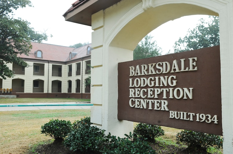 The historical Barksdale Lodging Inn was established in 1934 with only 26 rooms. Today, there are seven buildings with 189 rooms available for lodging needs. (U.S. Air Force photo/Senior Airman Kristin High)