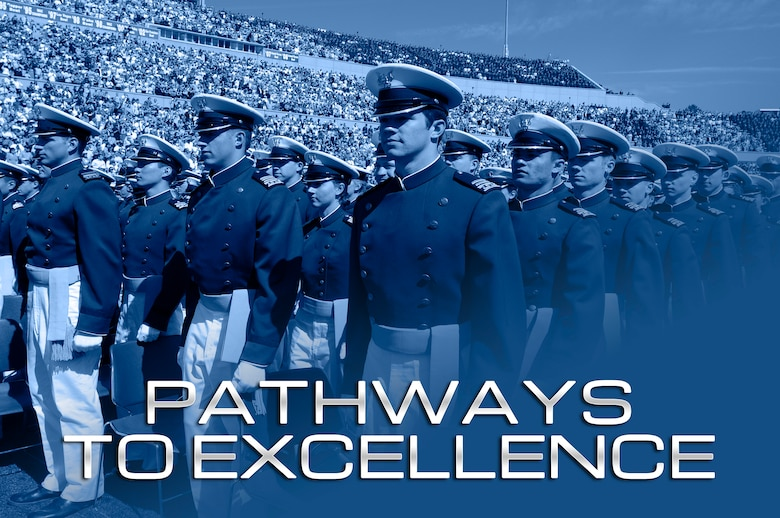 The Pathways to Excellence is an initiative from Air Force Academy Superintendent Lt. Gen. Michelle D. Johnson designed to integrate various mission elements' efforts to improve the Academy experience. (Original U.S. Air Force photo/Bill Evans)