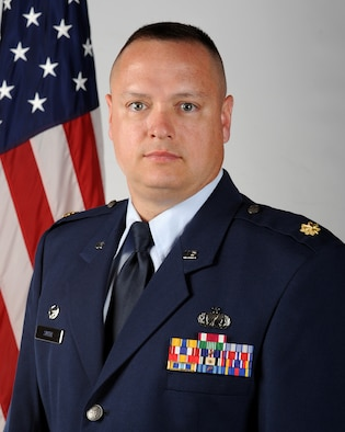 Maj. Gene T. Smith, 460th Contracting Flight